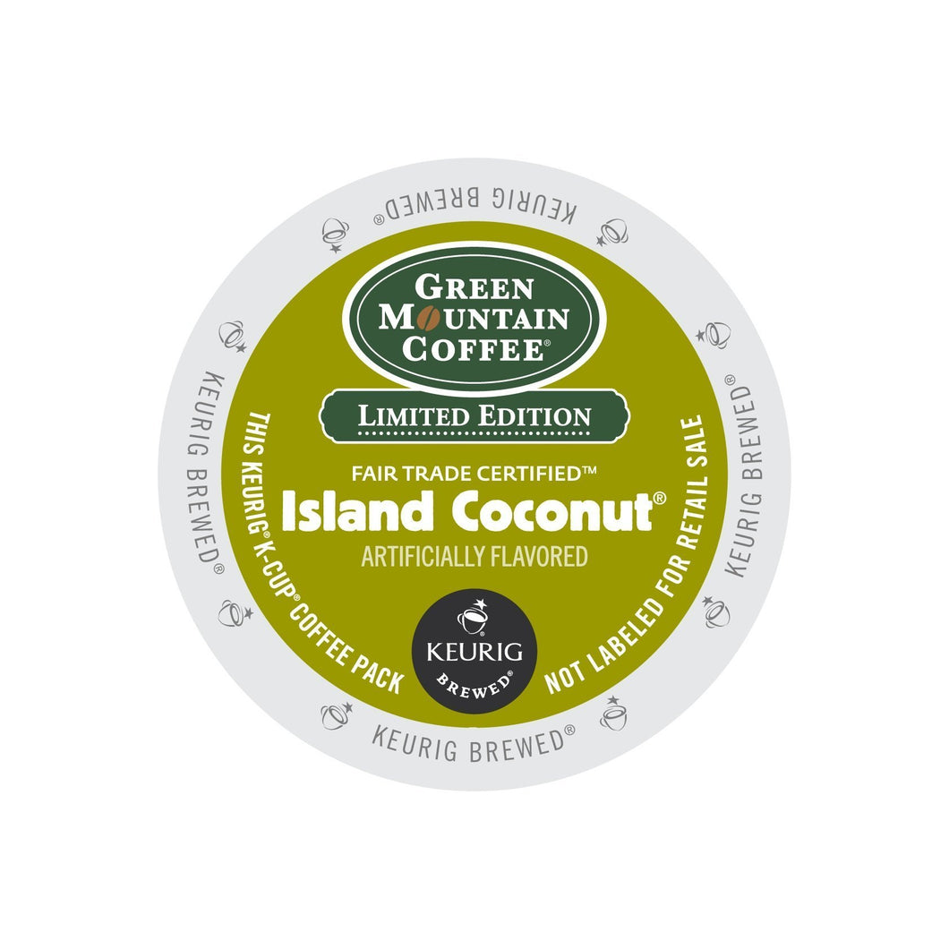 Green Mountain Coffee Fair Trade Island Coconut K-Cup® Pods 24ct