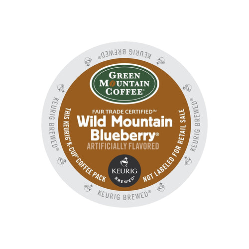 Green Mountain Coffee Wild Mountain Blueberry K-Cup® Pods 24ct Mild