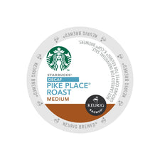 Starbucks Decaf  Pike Place K-Cups 24ct