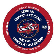 Timothy's German Chocolate Cake K-Cup Pods 24ct