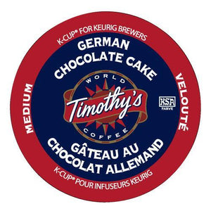 Timothy's German Chocolate Cake K-Cup® Pods 24ct