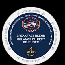 Timothy's Breakfast Blend K-Cup Pods 24ct