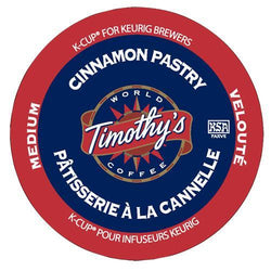 Timothy's Cinnamon Pastry K-Cup® Pods 24ct