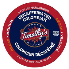 Timothy's Decaffeinated Colombian K-Cup Pods 24ct