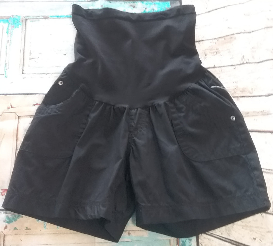 New Full Panel Cargo Maternity Shorts; 3 Colors