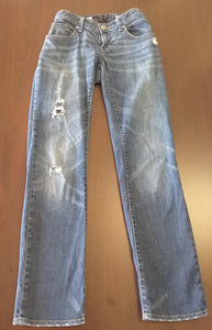 Size 2 Stretch Adjustable Straight Leg Jean