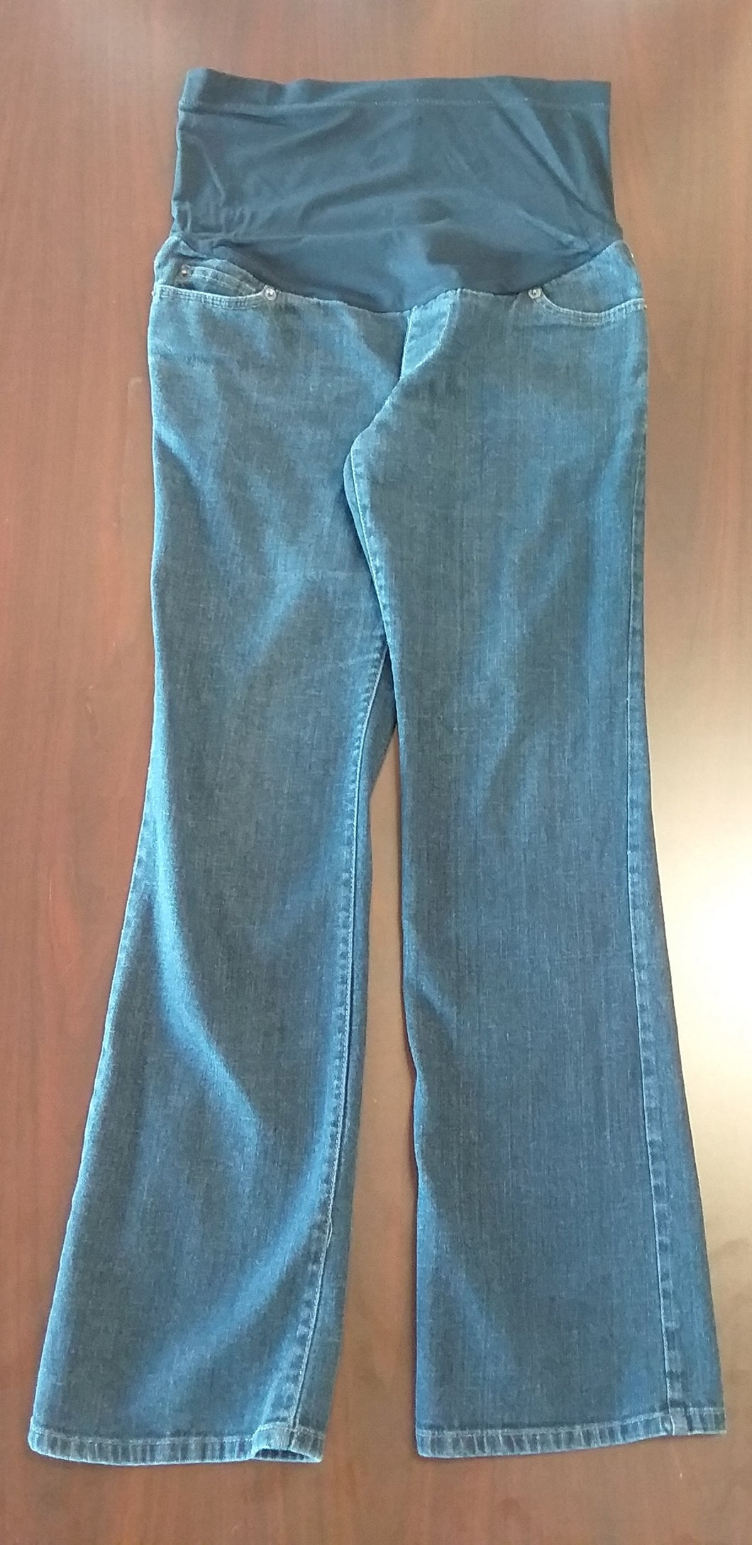 Size 4 Full Panel Dark Wash Straight Leg Jean