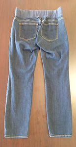 Size 10 Average Under Belly Panel Dark Skinny Jeans