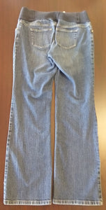 Size 8 Under Belly Panel Straight Leg Jean