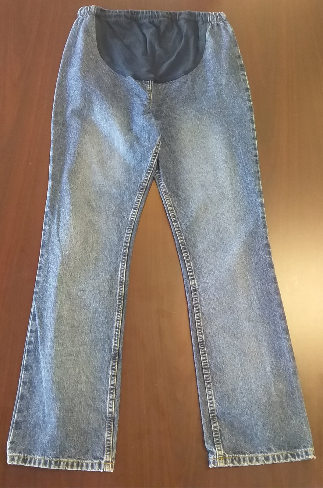 Medium Front Panel Mid Wash Jean