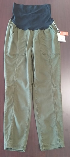 New Size 10 Full Panel Platoon Green Skinny Jeans