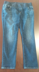 Size 12 Under Belly Panel Dark Wash Jean