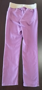 Size 12 Regular Under Belly Panel Purple/Pink Skinny Jeans