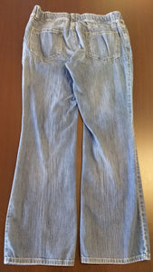 Size 12 Low Rise Stretch Boot Cut Jean
