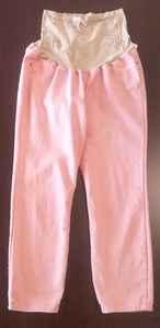 Large Full Panel Pink Colored Skinny Jean