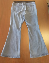 Size 16 Stretch Band Medium Wash Flare Leg