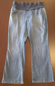 XL Full Front Panel Medium Wash Bootcut Jean