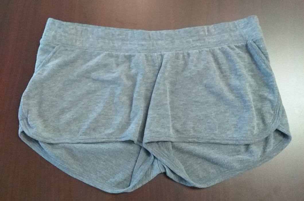XL Stretch Under Belly Gray Lounge Shorts