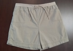 Medium Stretch Under Belly Khaki Shorts