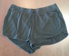 3X Black Under Belly Panel Lounge Shorts