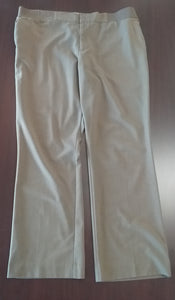 XL Stretch Side Panel Light Brown Maternity Pants