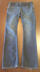 Size 6 Low Rise Medium Wash Boot Cut Jeans