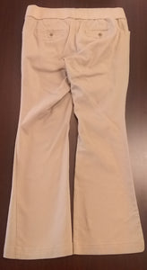 Size 14 Stretch Under Belly Panel Khaki Maternity Pants