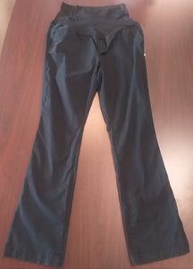 Size 14 Tall Full Panel Black Maternity Pants