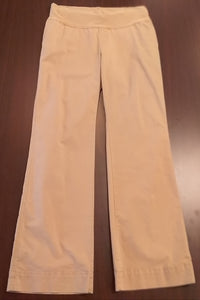 Size 10 Regular Under Belly Panel Stretch Khaki Maternity Pants
