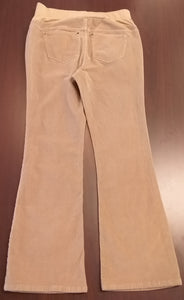 Medium Front Full Panel Khaki Cord Maternity Pants