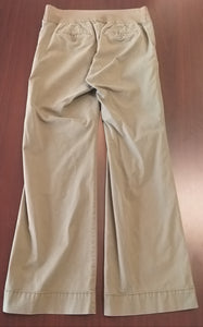 Size 10 Under Belly Panel Stretch Green Maternity Pants