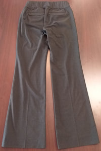 Size 8 Tall Stretch Under Panel Dark Gray Maternity Pants
