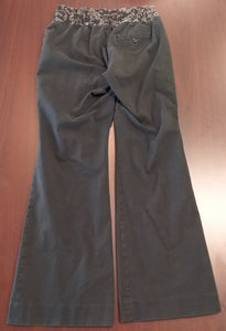 Size 10 Under Belly Panel Black Maternity Pants