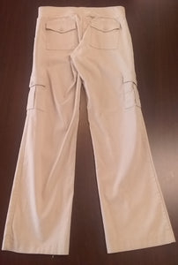 Small Under Belly Panel Khaki Maternity Pants
