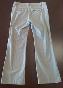 Size 4 Under Belly Panel Light Gray Maternity Pants