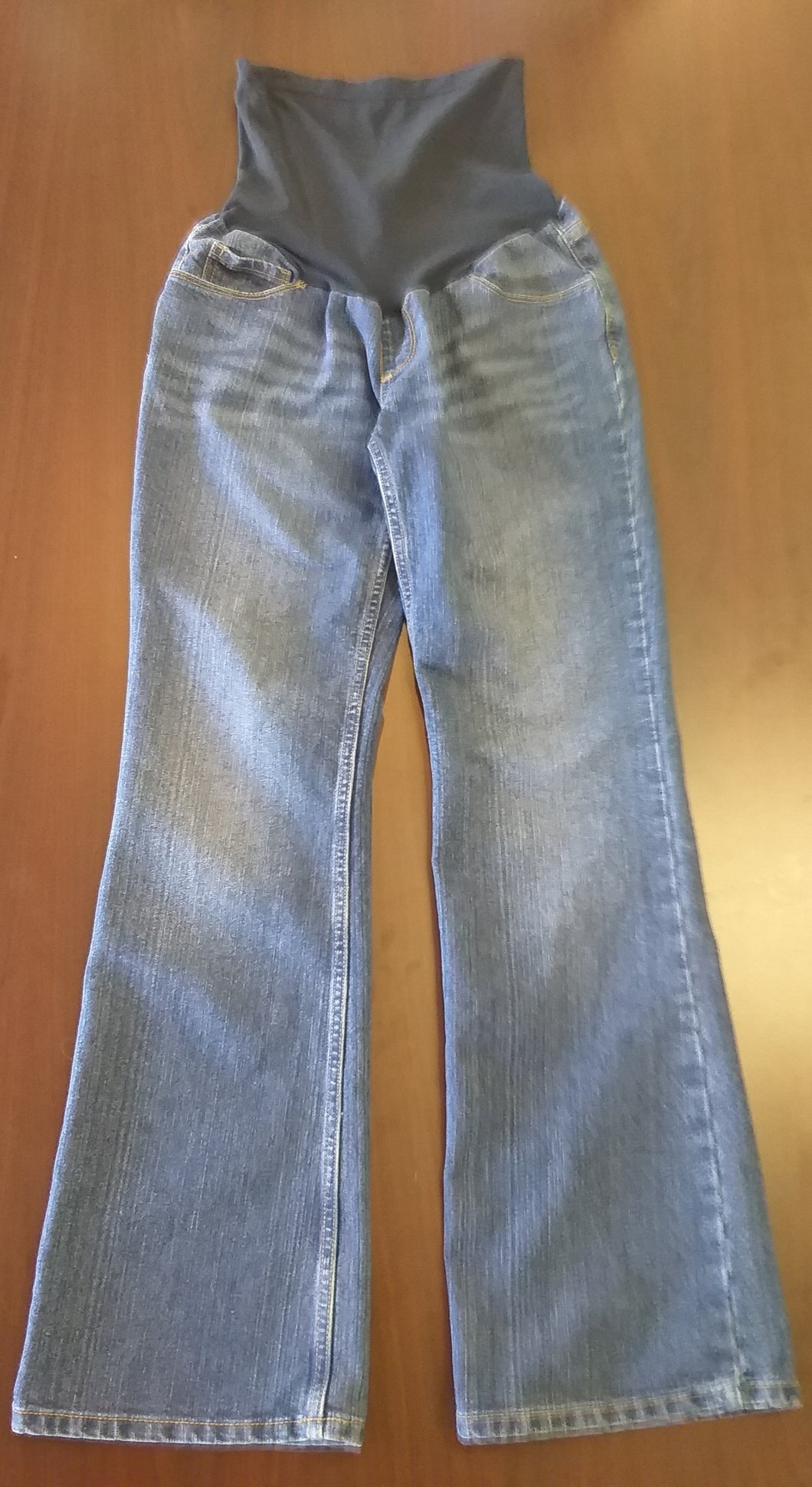 Small Full Panel Mid Wash Bootcut Jeans