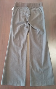 Size 2 Under Belly Panel Brown Maternity Pants