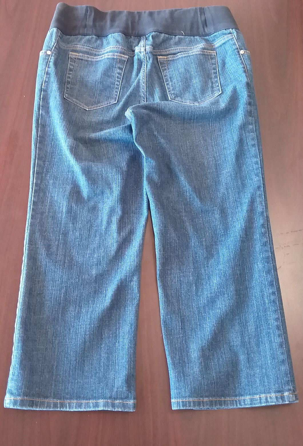 Size 12 Under Belly Panel Maternity Jean Capri