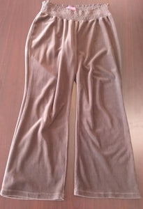 Large Stretch Brown Maternity Lounge Pants