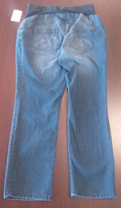 Medium Front Full Panel Jean Maternity Capri