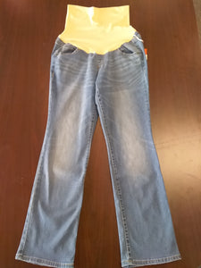 New Size 8 Tall Full Panel Bootcut Maternity Jean