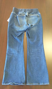Size 8 Petite Under Belly Bootcut Maternity Jean