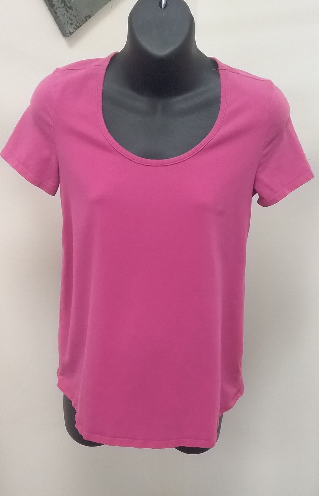 Small Cap Sleeve Pink Maternity Tee
