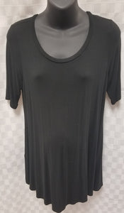 Medium Black Light Weight Maternity Tunic