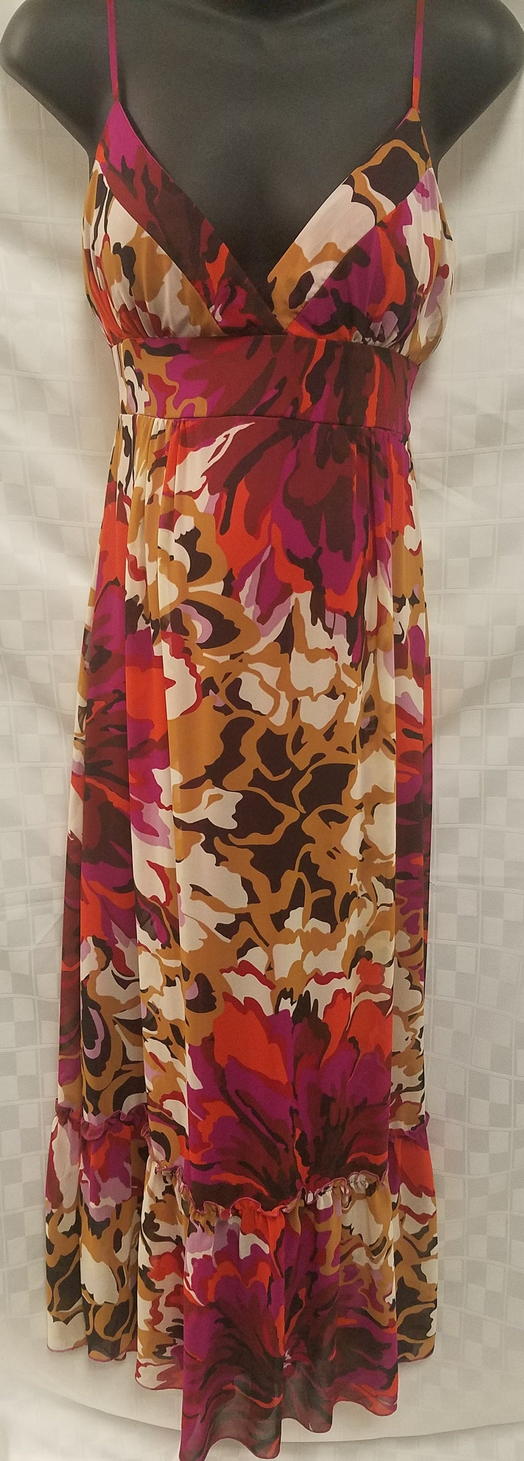 XLarge Floral Maternity Maxi Dress