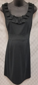 XLarge Black Sleeveless Sheath Maternity Dress