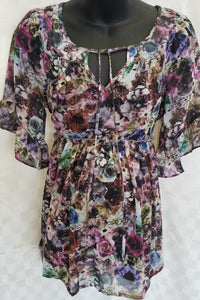 Floral Maternity Blouse