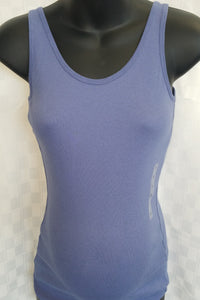 New Dusty Blue Maternity Tank - 2 Sizes