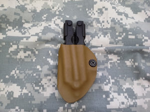 US Military Issue Surplus Black Gerber Multi-tool with Kydex Holster