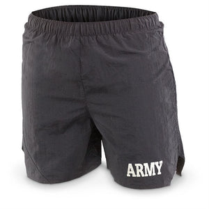 Army PT Shirt and Shorts Set